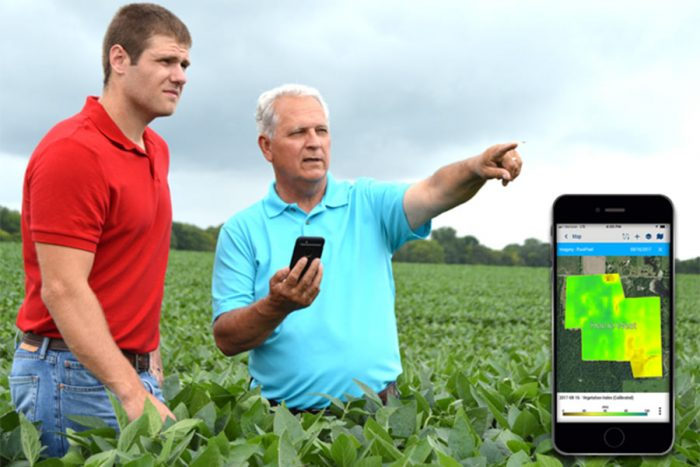 Crop Health Imagery, powered by PurePixel™ technology