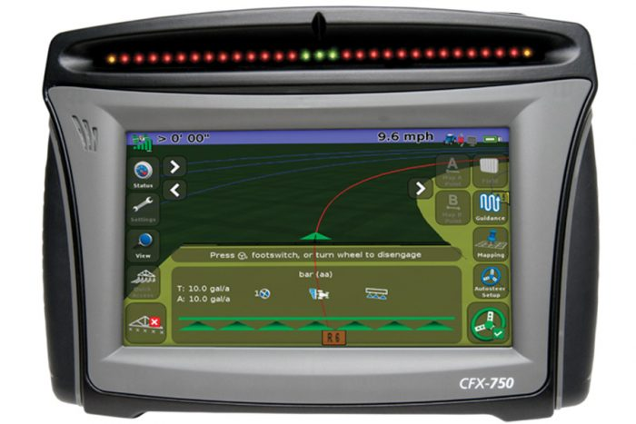 CFX 750 Guidance Display