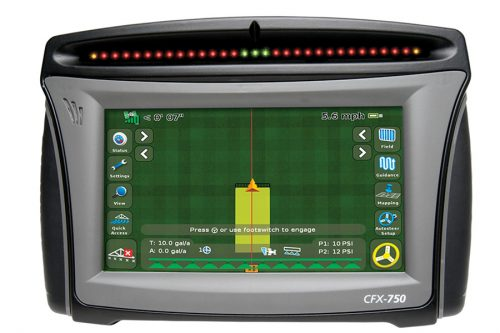 CFX 750 Trimble Guidance Display
