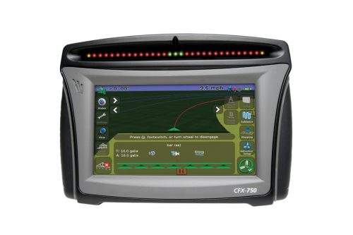 Trimble CFX 750 Guidance Display