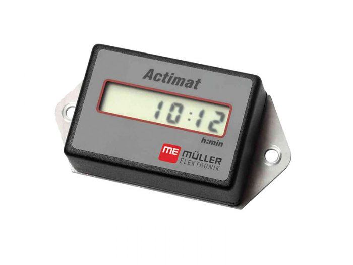 ACTIMAT Muller hour meter for implements