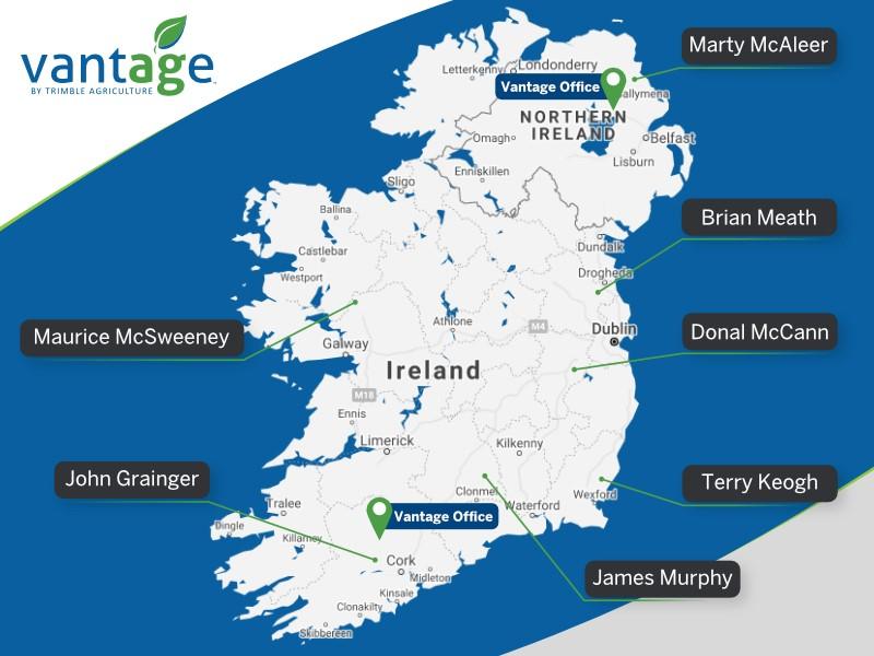 Vantage Ireland team