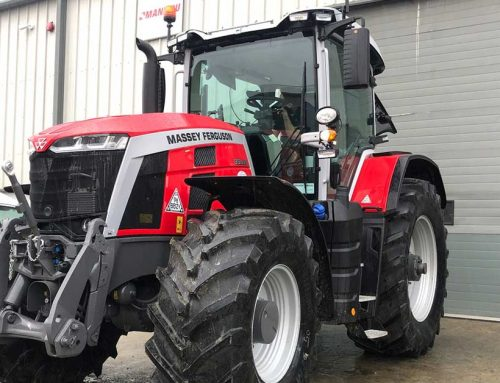 Massey 8s Fitted with Trimble Guidance